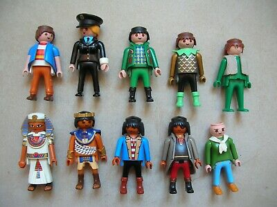 Lot de Playmobil 10 personnages figurine Playmobil n°3