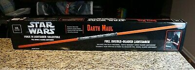 Darth Maul Force FX Full Double-Bladed Lightsaber STAR WARS Master Replicas RARE