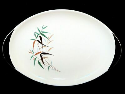 """Royal Doulton Bamboo China Oval Platter L14.75"""" x w 10"""" approx D6446"""