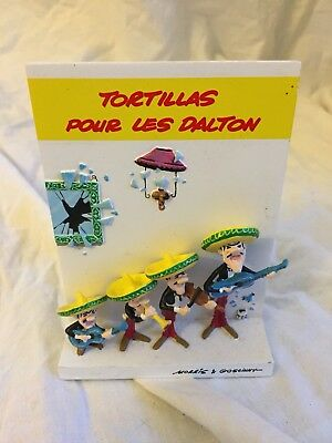 Collections Lucky Luke Comics En Céramique Tortillas Pour Les Dalton