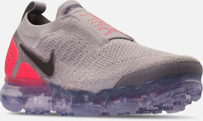 best service c2583 7cdfb Nike Air Vapormax Flyknit MOC 2 Shoes Moon Particle Grey   Red Sz 13 AH7006  201