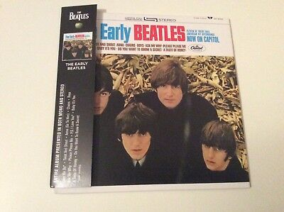 The Beatles  The Early Beatles Cd With Obi Strip New And Sealed.