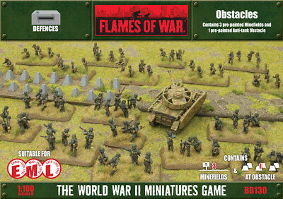 Flames of War Obstacles Terrain By Battlefront BB130