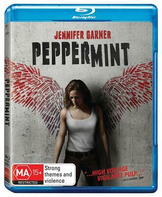 PEPPERMINT (2018): Action, Drama, Thriller, Jennifer Garner NEW Aus RgB BLU-RAY