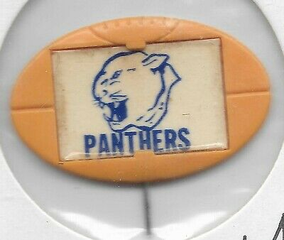 1968 1969 Twisties / Milo Badge / Pin SOUTH ADELAIDE Panthers