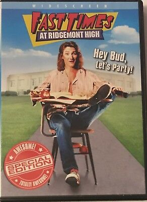 Fast Times at Ridgemont High (DVD, Widescreen) Special Edition