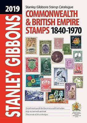 NEW Stanley Gibbons 2019 Commonwealth & British Empire Stamp Catalogue 1840-1970