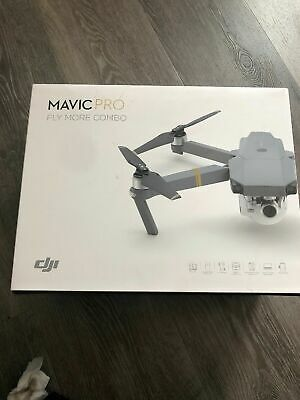 DJI Mavic Pro Fly More Combo - 4K Stabilized Cam, Active Track, 3 Batteries NEW!