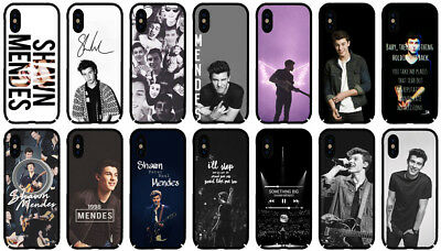 the latest 71133 db63b SHAWN MENDES POP Singer Music Phone Case Cover for Apple IPhone X 8 7 6 6S  Plus