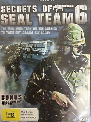 SECRETS OF SEAL TEAM 6 - Discovery Channel Documentary DVD BRAND NEW!