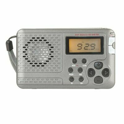Digitech Multiband FM/MW/SW/TV Pocket Radio With Time Display & Alarm Function