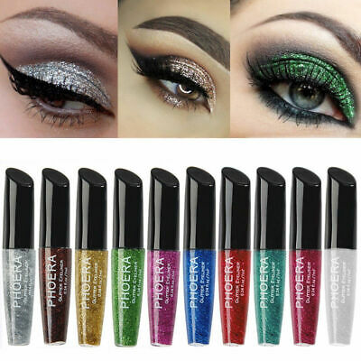 Glitters Liquid Dip Eyeliner Sparkly Eyes Liner Waterproof Makeup Cosmetics Shop