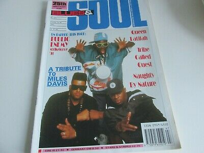 blues and soul magazine issue 597 oct 1991