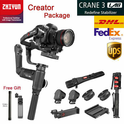 Zhiyun Crane 3 LAB Creator Kit 3-Axis Handheld Gimbal Stabilizer fr DSLR Camera