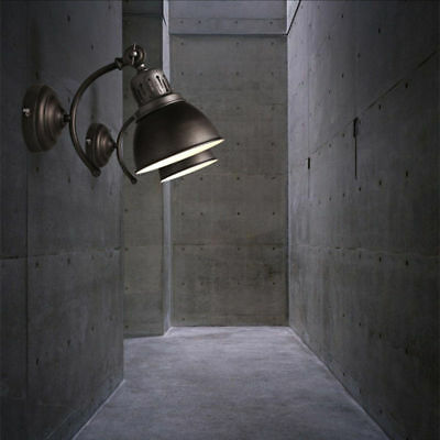 Industrial Wall Sconce Lamp Spot LED Light Barn Wall Fixture Outdoor Lighting