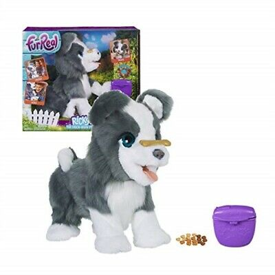 FurReal Friends Ricky, the Trick-Lovin Interactive Plush Pet Toy, 100+ Sound-an