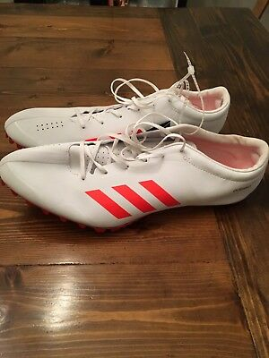 the latest c9d96 b479a New Adidas Adizero Prime SP Mens Track Field Spikes Sprint Racing Shoes Sz  13