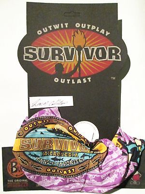 SURVIVOR , SEASON 16, MICRONESIA ,( fans vs. favorites )  PURPLE  MALAKAL  BUFF