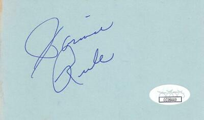 Cards & Papers Robert Stephens D 1995 Signed 3x5 Index Card Actress/sherlock Holmes Jsa Cc39521