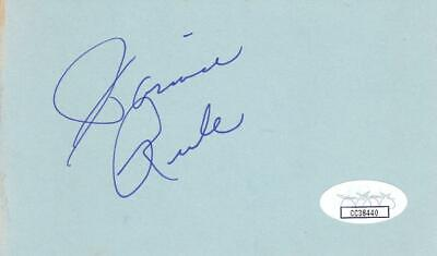 Robert Stephens D 1995 Signed 3x5 Index Card Actress/sherlock Holmes Jsa Cc39521 Autographs-original