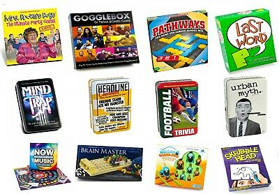 Board Games / Family / Children / Adults / Party - Paul Lamond - New Gift