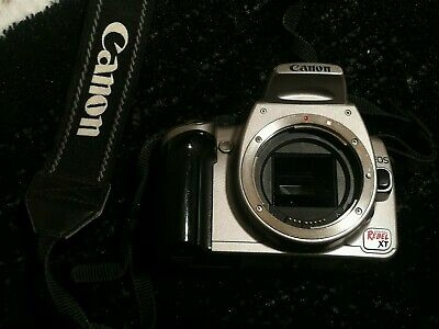 Canon EOS REBEL XT DS126071 DIGITAL CAMERA WITH 35-80mm lenses