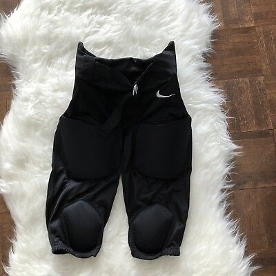 a547ce79df0d Nike Youth Large Recruit Integrated 2.0 Football Pants Built in Pads Black  NWT