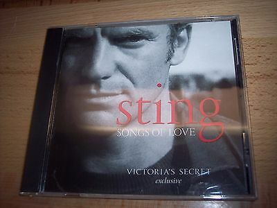 2003 Sting Songs Of Love Victoria's Secret Exclusive CD