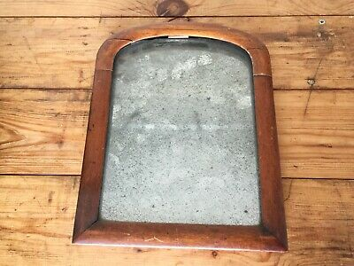 Antique/Vintage Heavily Distressed Mahogany Framed Mirror
