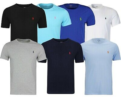 Ralph Lauren Men's Crew Neck Short Sleeve T-Shirt Many Colours
