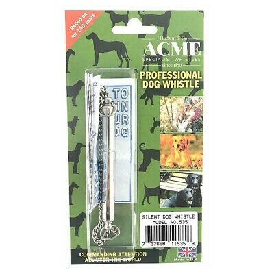 Genuine Acme Professional Silent Dog Whistle Gundog Training & Behaviour Aid-535