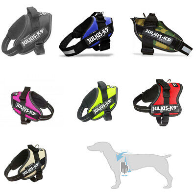 Julius K9 IDC® Power Dog Puppy Harness Strong Adjustable & Reflective Robust New