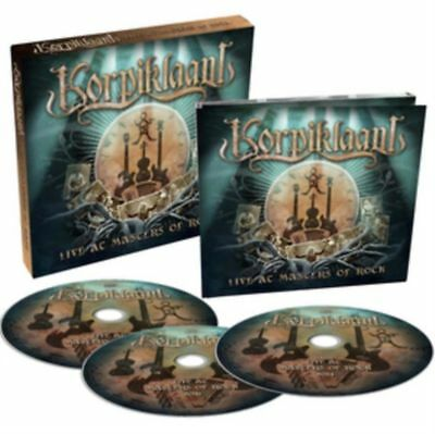 Live at Masters of Rock KORPIKLAANI 2 CD + 1 DVD
