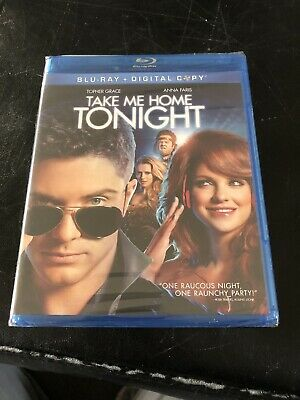 *NEW* Take Me Home Tonight (Blu-Ray, 2011) *SEALED*
