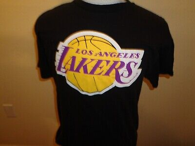 9f243fa6d M L Mens Majestic LA Los Angeles Lakers Kobe Bryant basketball t-shirt 2