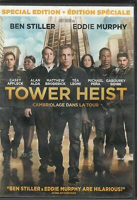 """""""Tower Heist""""  DVD Bilingual  FREE SHIPPING IN CANADA"""