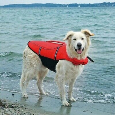 Trixie Dog Water Life Vest Saver Reflective Jacket Preserver Float Safe Swimming