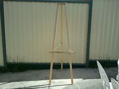 Large Wooden Easel For Painting Art Picture Advert Deco Display Stand