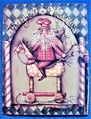 Christmas Wishes Painting Pattern Book Jo Sonja David Jansen Rooster