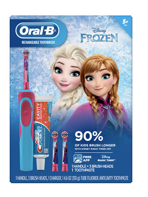 Oral B Rechargeable Toothbrush Disney Frozen