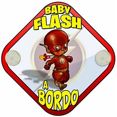 Placa bebé a bordo Baby Flash a bordo