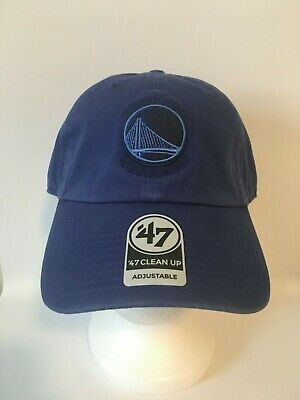 on sale 55b8f 71f39 Golden State Warriors  47 NBA Triple Rush CLEAN UP Cap