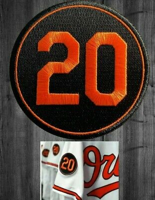 5dcb91e1a59 FRANK ROBINSON PATCH   20 MEMORIAL PATCH BALTIMORE ORIOLES un used jersey  patch
