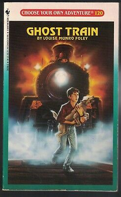 Vintage CHOOSE YOUR OWN ADVENTURE #120 GHOST TRAIN 1991