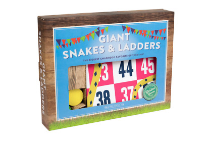 Professor Puzzle Giant Snakes and Ladders New in Box