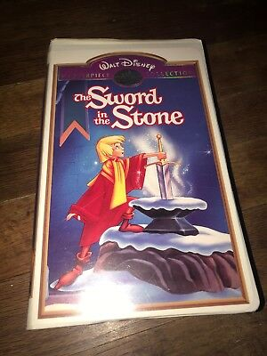 The Sword and the Stone (VHS) Walt Disney's Masterpiece Collection
