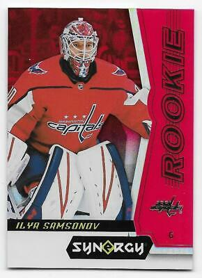 18/19 UPPER DECK SYNERGY ROOKIES RED PARALLEL Hockey (#41-100) U-Pick From List