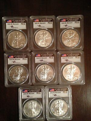 108 AMERICAN SILVER EAGLE COINS FOR SALE $23,999.99 - sample as shown