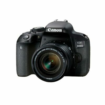 Canon EOS 800D + EF-S 18-55mm f4-5.6 IS STM Black Multi Stock from EU garanz