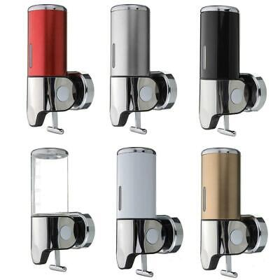 500ml Soap Dispenser Bathroom Wall Mount Shower Shampoo Lotion Container Holder